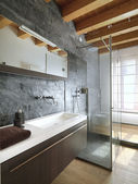 Modern bathroom — Stockfoto