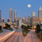 Atlanta Skyline — Stock Photo