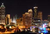 Atlanta stadsbild — Stockfoto