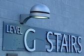 Level G Stairs — Stock Photo