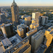 Aerial View of Atlanta - Stock Photo