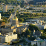 Aerial View of Atlanta — Stock Photo
