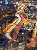 Die interstate 85 in atlanta — Stockfoto