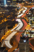 Interstate 85 v atlantě — Stock fotografie