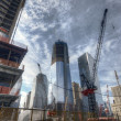 World Trade Center Construction — Stock Photo