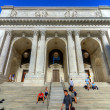 New York City Public Library Main Branch — Stock Photo