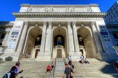 New York City Public Library Main Branch — Stock Photo