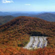 Parking in Blue Ridge Mountains — Stock Photo #7240696