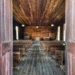 Old Chapel Interior - Foto Stock