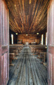 Old Chapel Interior — Stock Photo