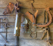 Antique Tools — Stockfoto