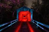 Howards covered Bridge — Stock Photo