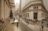 Federal Hall at Wall Street — Stock Photo