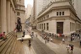 Federal Hall at Wall Street — Stock Photo