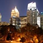 Midtown Atlanta Cityscape — Stock Photo