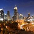 Atlanta georgia cityscape — Stock Photo