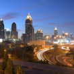 Atlanta georgia cityscape — Stock Photo #7594325
