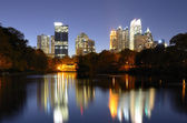 Atlanta From Piedmont Park — Stock Photo