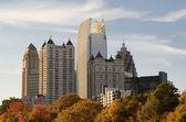 Atlanta dal parco piemontese — Foto Stock