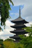 Toji Pagoda — Stock Photo