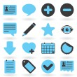 Internet Icons Series: Blog — Vector de stock  #7025276