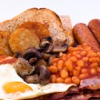 Full English Breakfast — 图库照片