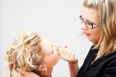 Mujeres peleando — Foto de Stock