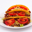 Mexican Tacos — Stock Photo