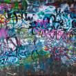 Street Graffiti Background - Stock Photo