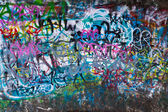 Street Graffiti Background — Stock Photo