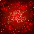 Christmas sparkling background — Imagen vectorial