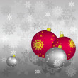 Vettoriale Stock : Vector Christmas background
