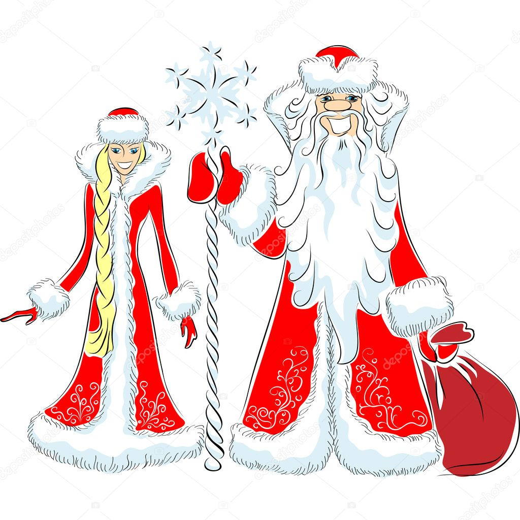 Дед Мороз Вектор