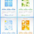 Royalty-Free Stock Vektorgrafik: Calendar 2012.