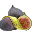 Figs with measuring tape — Stock Photo