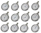 Pocket watches — Stock Photo