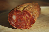 Soppressata calabrese — Stock Photo
