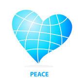 Peace-love — Stock Vector