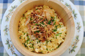 Cheese spaetzle — Stockfoto