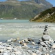 Cairn on the shore — Stock Photo