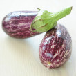 Pair of eggplant — Stock Photo