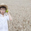 A small farmer — Stock Photo