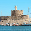 Fort Saint Nicholas, Rhodes, Greece. — Stock Photo