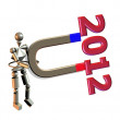 New year 2012 — Stock Photo #7954643