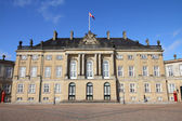 Copenhagen - Amalienborg — Stock Photo