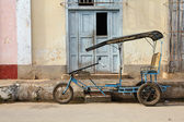 Táxi de bicicleta de cuba — Foto Stock