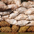 Cassava bags — Stock Photo