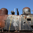 Stock Photo: Junk train