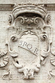 Roma spqr — Foto Stock