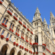 Vienna city hall — Stock Photo